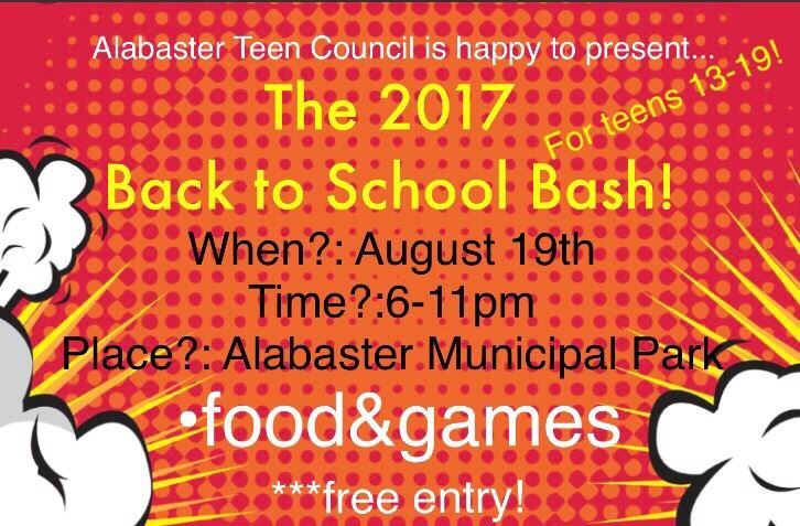 2017 Back to School Bash