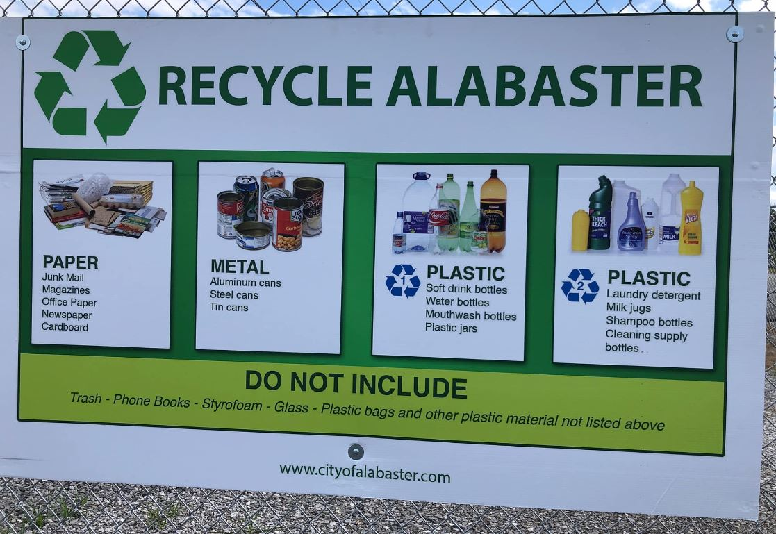 Recycling Fence Sign (JPG)