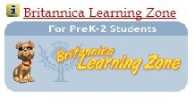 Britannica Learning Zone Logo