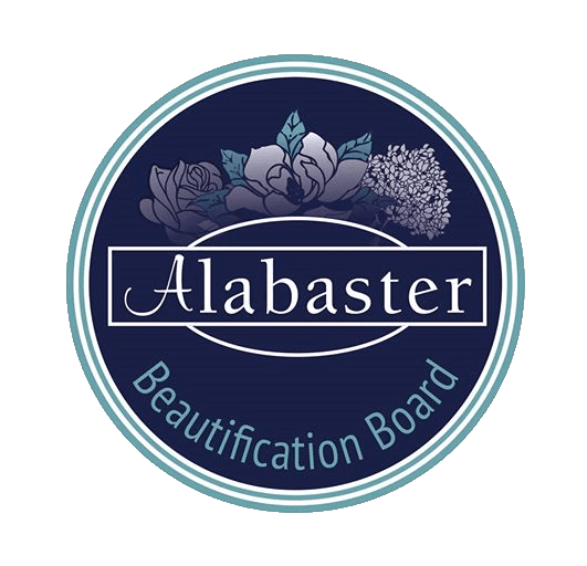 Alabaster Beautification Board Logo with transparent background