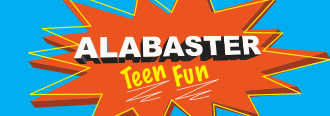 Alabaster Teen Fun Logo