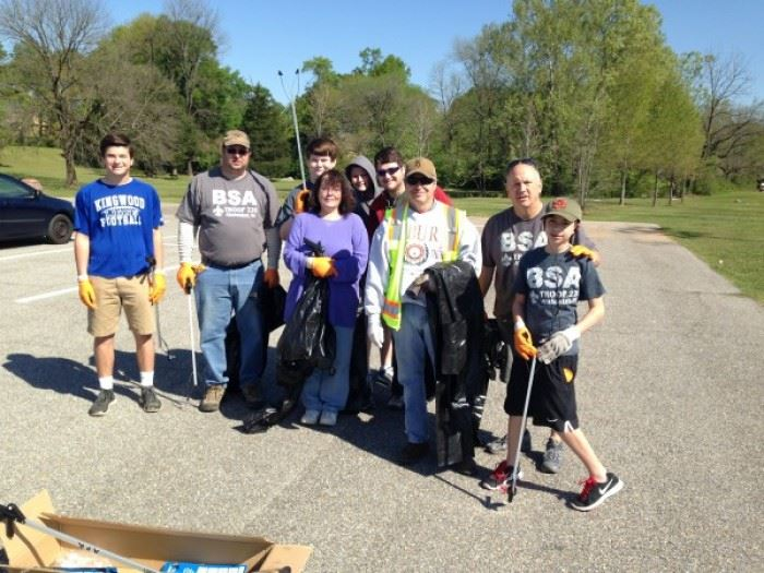 Clean Sweep 2016 Volunteers 9